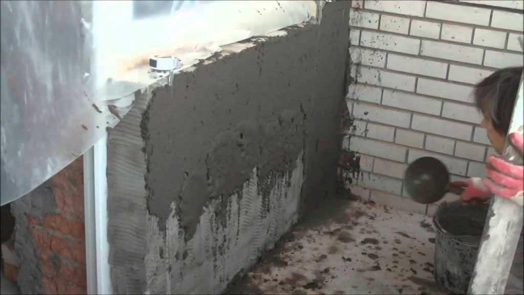 Штукатурные работы по кирпичу и бетону