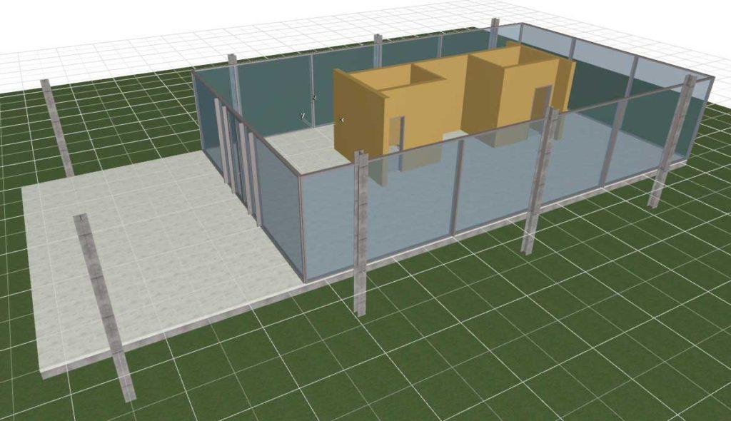 Двери, лестницы, этажи, крыша в ArchiCAD-10