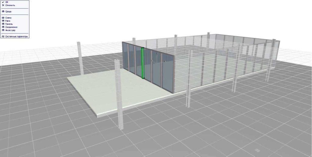 Навесные стены в ArchiCAD-11