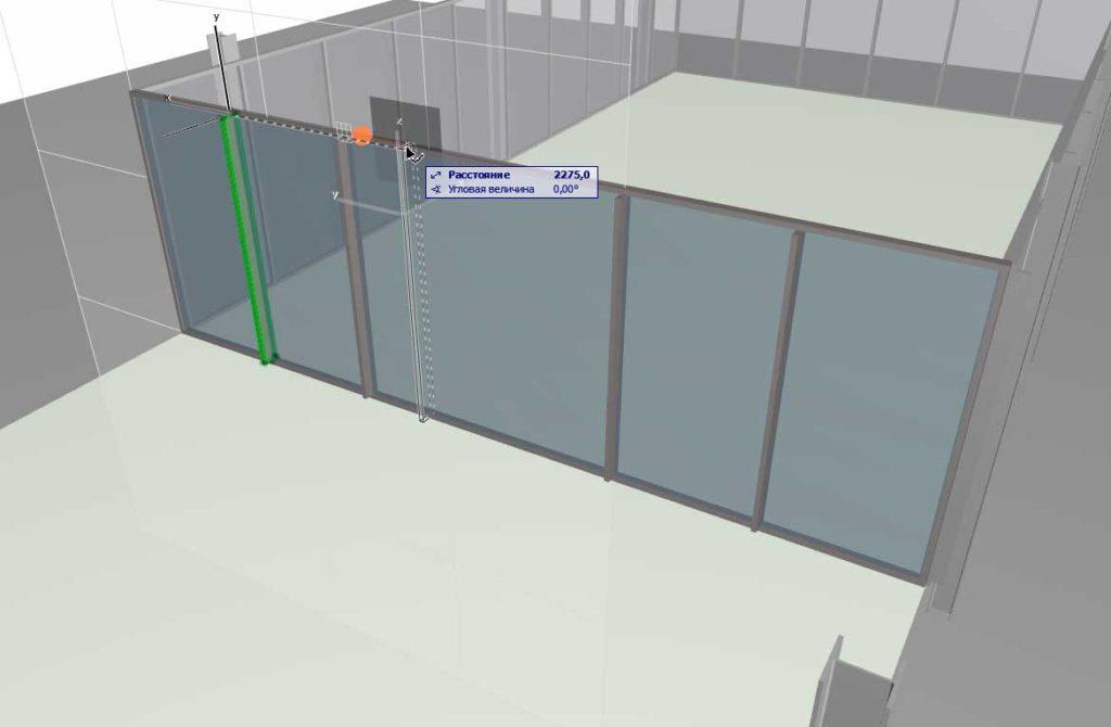 Навесные стены в ArchiCAD-13