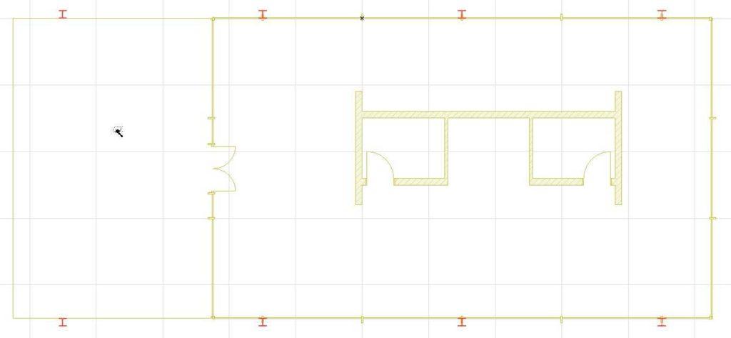 Двери, лестницы, этажи, крыша в ArchiCAD-13