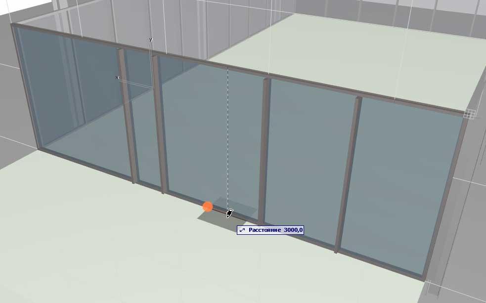Навесные стены в ArchiCAD-14