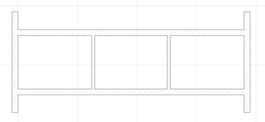 Создание внутренних стен в ArchiCAD-14