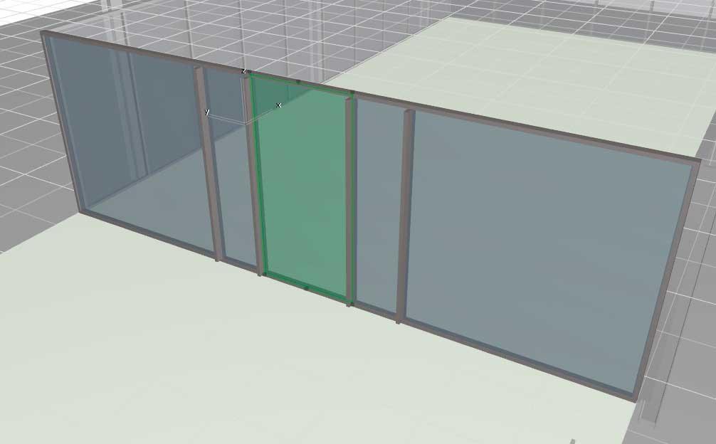 Навесные стены в ArchiCAD-16
