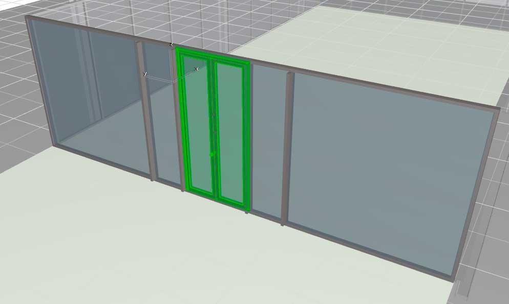 Навесные стены в ArchiCAD-17