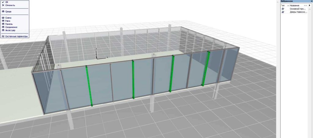 Навесные стены в ArchiCAD-20
