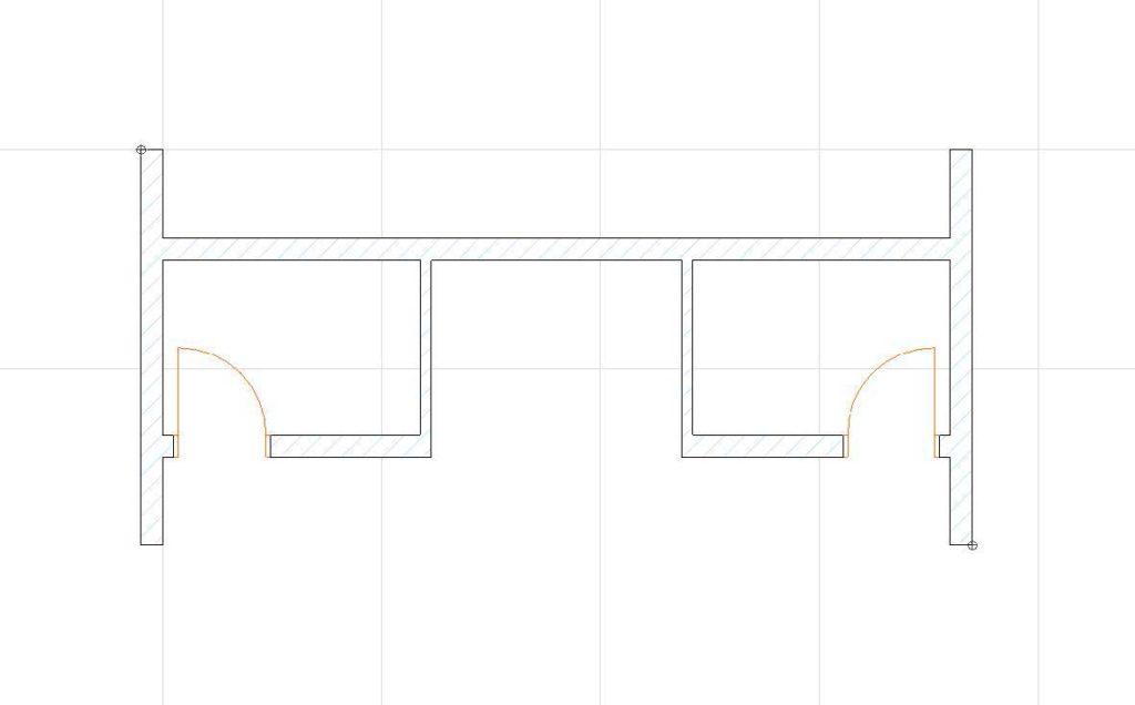 Нанесение размеров в ArchiCAD-3