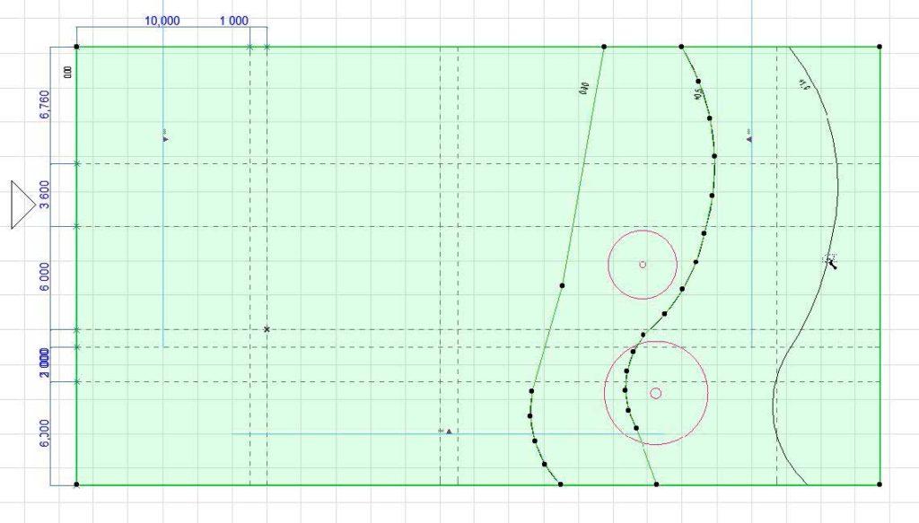 Моделирование ландшафта в ArchiCAD-5