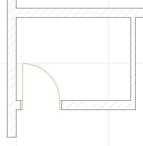 Двери, лестницы, этажи, крыша в ArchiCAD-5