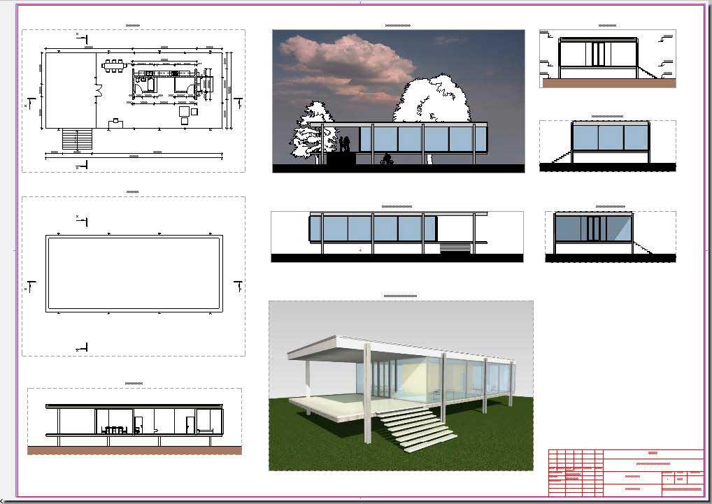 Информация о проекте, оформление по ГОСТ, экспорт в PDF. ArchiCAD-6