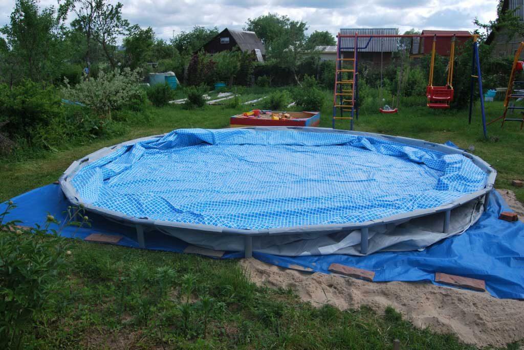 Свариваем ткань ПВХ для бассейна