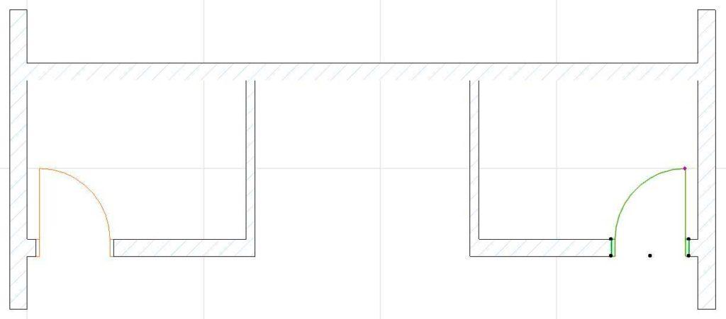 Двери, лестницы, этажи, крыша в ArchiCAD-9
