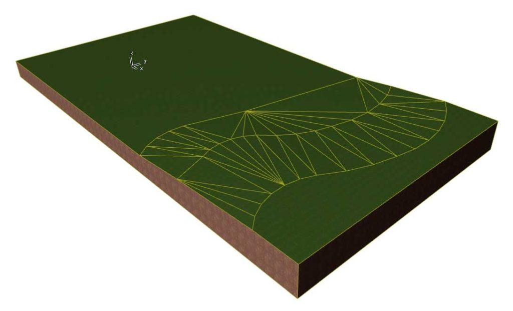 Моделирование ландшафта в ArchiCAD-9