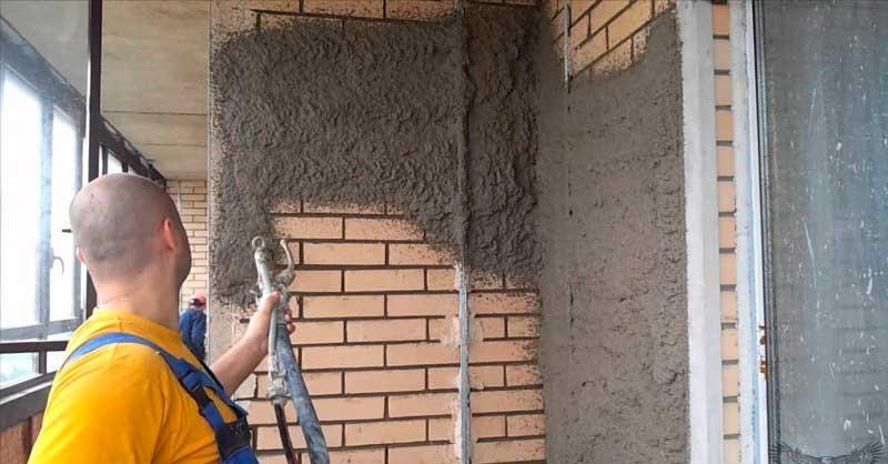 Обработка грунтовкой стен