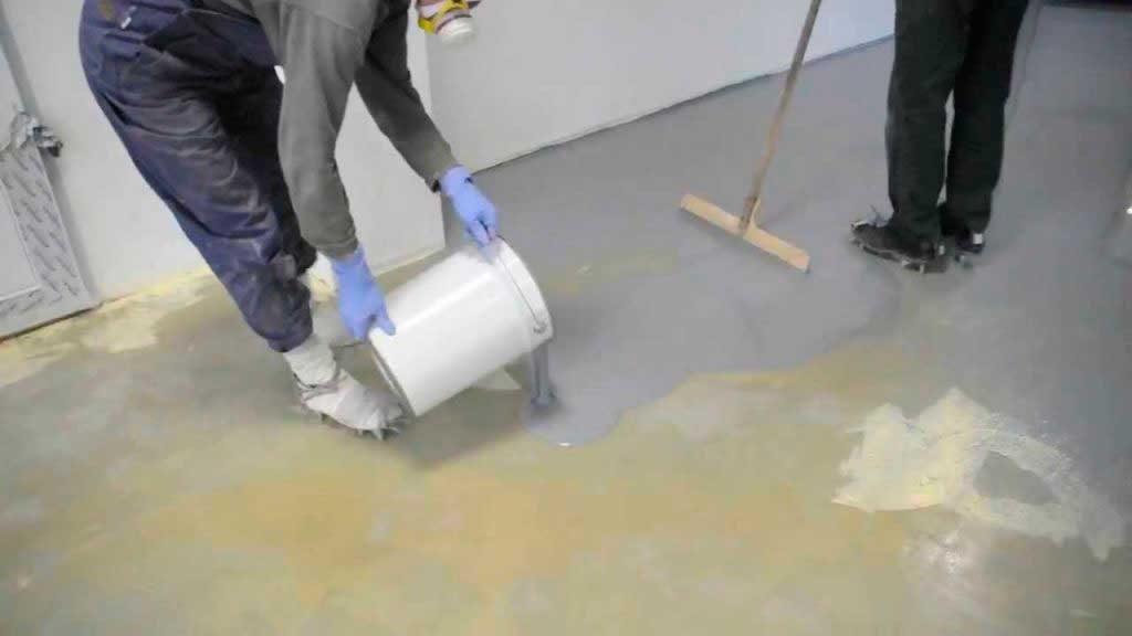 Технология монтажа наливного пола