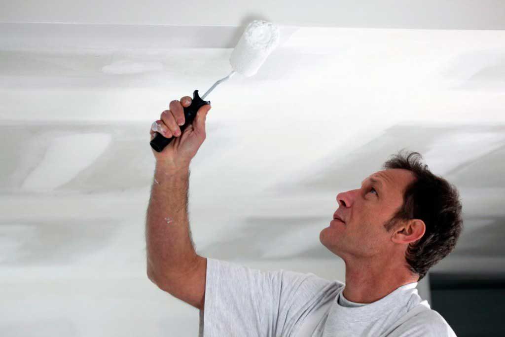 Удаление трещин на потолке