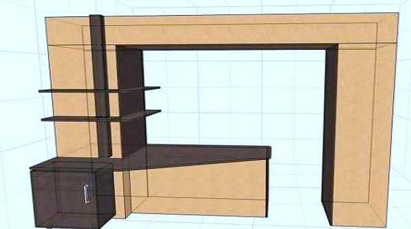 Совмещение балкона с комнатой 1