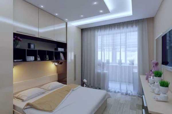 Совмещение балкона с комнатой 18
