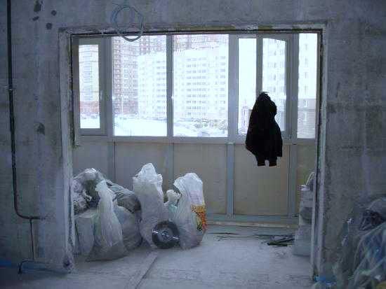 Совмещение балкона с комнатой 2