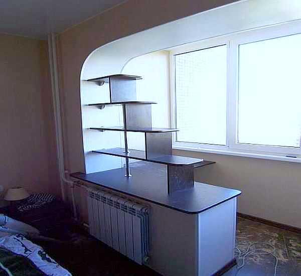 Совмещение балкона с комнатой 20