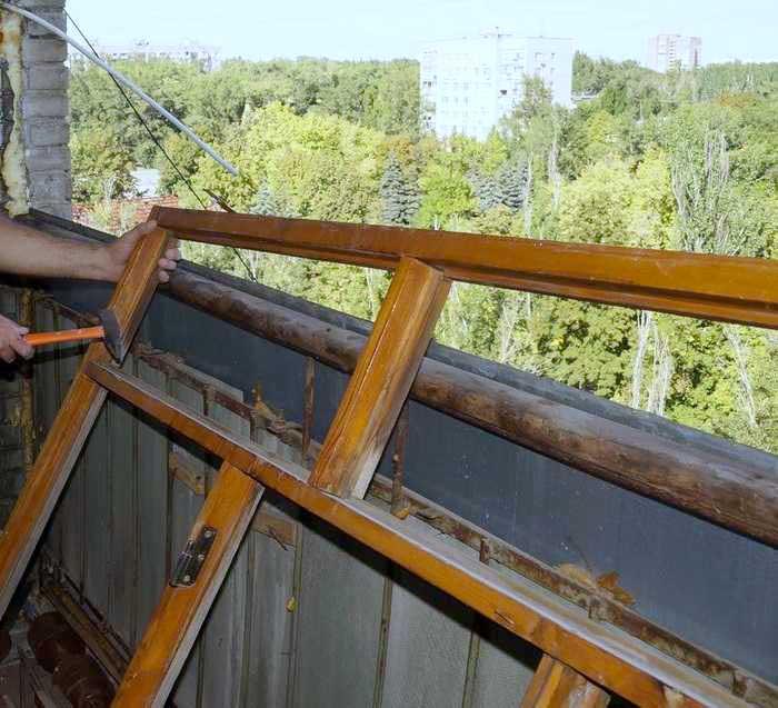 Совмещение балкона с комнатой 3