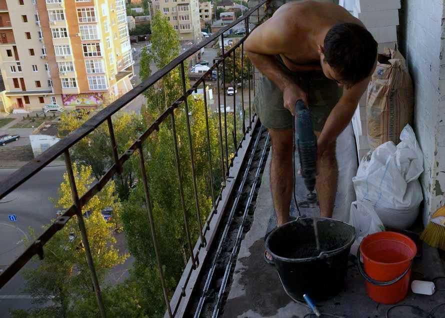 Совмещение балкона с комнатой 4
