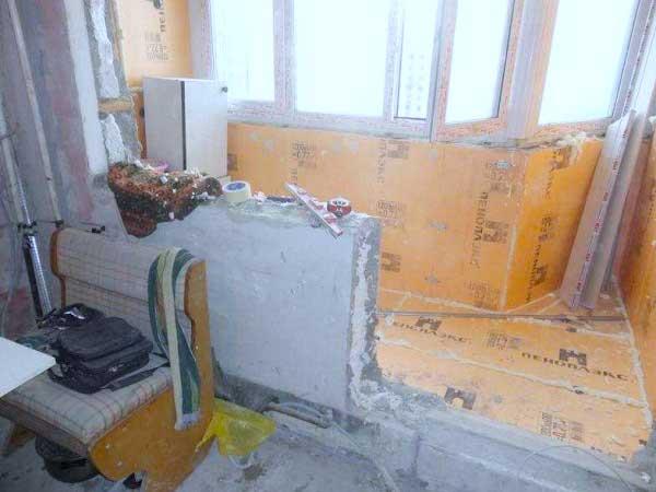 Совмещение балкона с комнатой 8