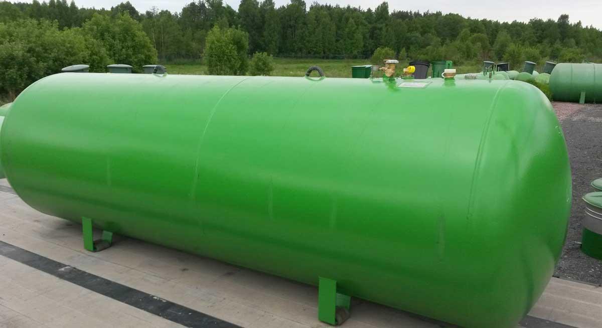 Резервуар газа