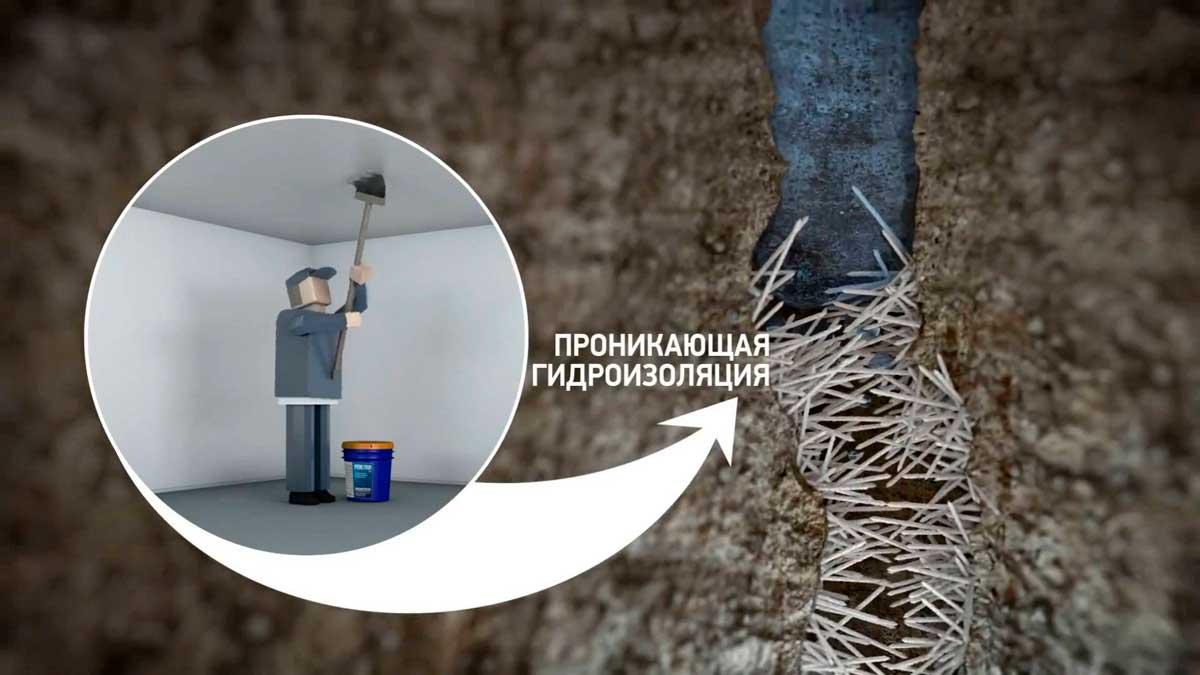 Проникающая гидроизоляция – новое слово в безопасности вашего дома