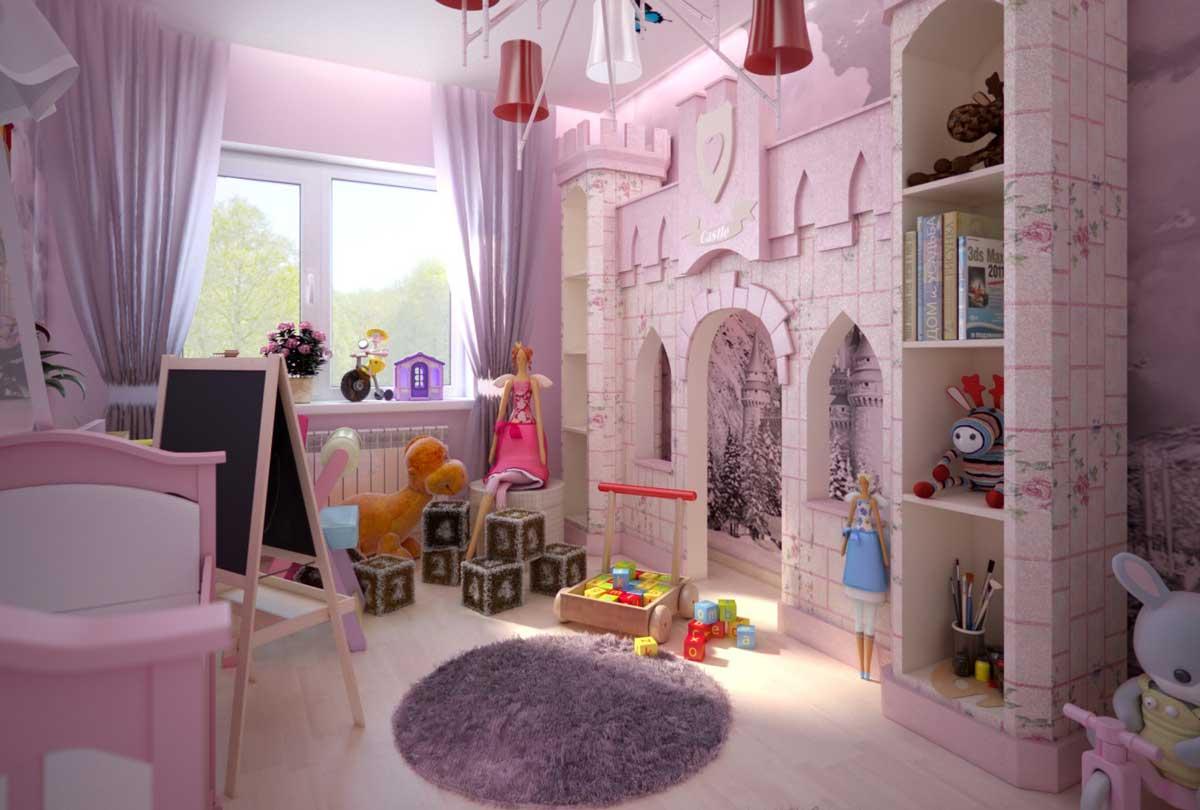 маленькая принцесса комната