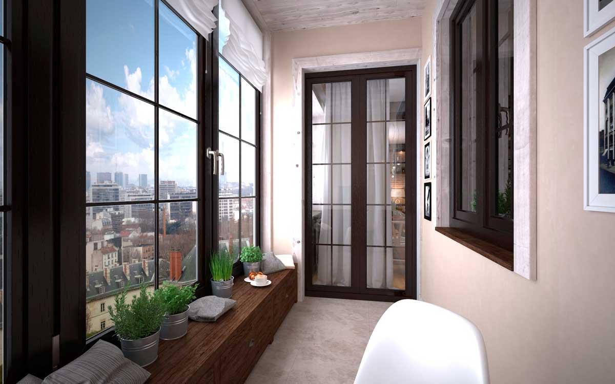 Как утеплить балконный парапет и крышу