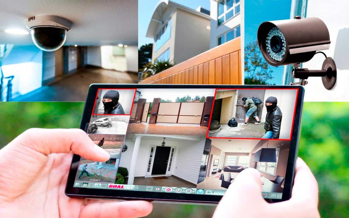 Видеонаблюдение частного дома