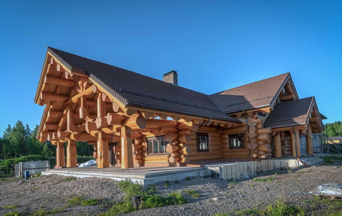 Строительство классического сруба по деревянной технологии