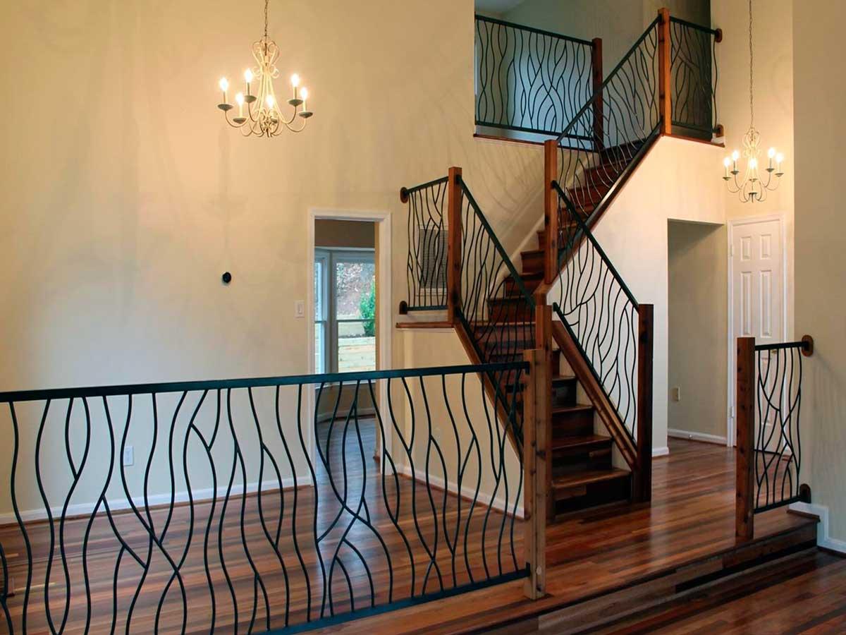 Лестница в частном особняке