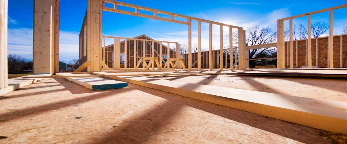 Фундамент и стены будущего дома