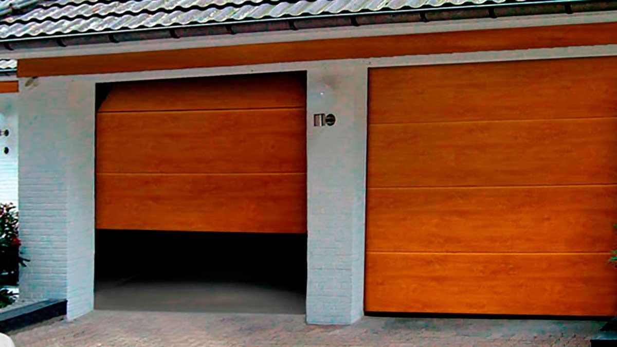 Подъемно - секционные ворота