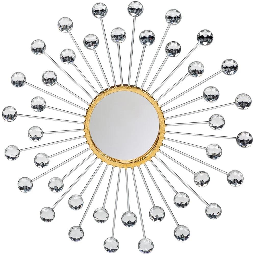 Необычная форма зеркала - фото